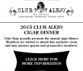 2015 Club Alejo Cigar Dinner